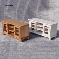 STC Mainan Miniatur Furniture Ruang Tamu Bahan Kayu untuk Aksesoris
