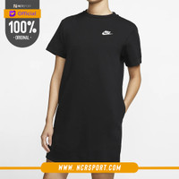 Pakaian Sneakers Nike Wmns Sportswear Tech Fleece Dress Black Original