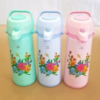 Sunflask Thermos Air Panas 2.5 Liter 2,5L Termos Pencet spt Lion Star