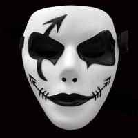 Topeng jabbawockez Urbex Urban Explorer Jabba joker Vendetta hallowen