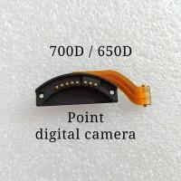 flex pin conector lensa Canon 650d 700d contact lens