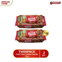 TWINPACK Good Time Cookies Double Choc