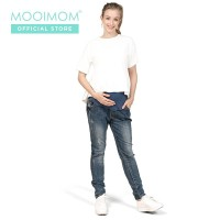 MOOIMOM Maternity Jeans - Celana Jeans Ibu Hamil
