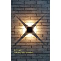H231/4L Lampu dinding taman led 4x1w waterproof outdoor wall lamp