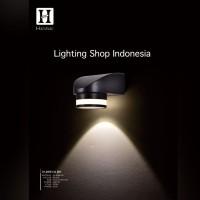 h209 lampu dinding taman hias led sorot wall light 5w pagar waterproof
