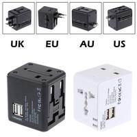 Universal Travel Adaptor Dual Usb International