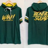 Kaos hoodie persebaya bonek squad hijau