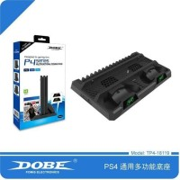 Dobe PS4 Slim Pro Multi-functional Charging & Cooling Stand TP4-18119
