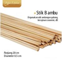 Stik undangan bambu 800 pcs Pesanan Jogja