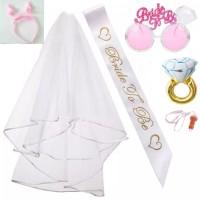kacamata bride bando willy paket bridal shower - Purple