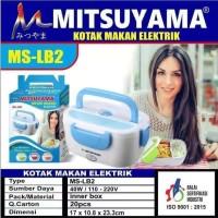 Kotak Makan Penghangat Elektrik / Electric Lunch Box Mitsuyama MS-LB2
