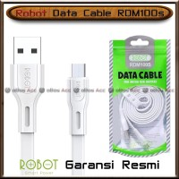 Robot Kabel Data RDM100s Charger Fast Charging 2A Cable Micro USB HP