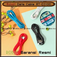 Robot Kabel Data RT-CD100 Charger Fast Charging 2A Cable Micro USB HP