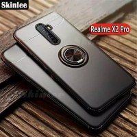 CASE RENO ACE AUTO FOCUS ULTIMATE RING SOFT SILICONE COVER STAND TPU