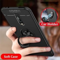 CASE XIAOMI MI9T / MI 9T PRO AUTO FOCUS ULTIMATE RING SOFT SILICONE PC
