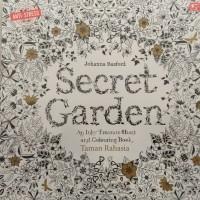 "Adult colouring book/ buku mewarnai import ""SECRET GARDEN"""