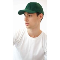 Houseofcuff Topi Casual Polos Sport Besi Baseball Cap Tumblr Hat Hijau