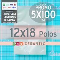 Plastik Vacuum Polos 12x18 cm| isi 5 pack