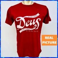 T-shirt Pria Distro Katun Combed 30s Motif Random / Kaos Pria Katun
