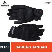 Eiger Riding Knuckle Full JRP Gloves - Black M