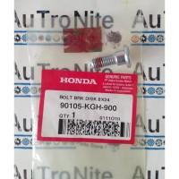 Bolt Brake Disk Baut Piringan Cakram 8X24 90105-KGH-900 Original Honda