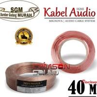 KABEL AUDIO 1 ROLL 40 METER 2X120