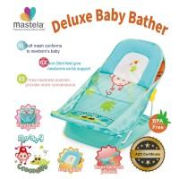 Mastela Deluxe Baby Bather / Kursi Mandi GreenJungle-Monkey-Grey 07167