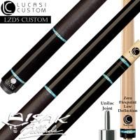 Lucasi LZD5 Custom Cue - Uniloc - Low Deflection Shaft Billiard Stick