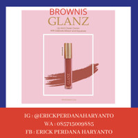 PAKET RESELLER 1 Pc GLANZ Lip & Cheek Cream Brownies