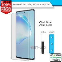 Tempered Glass UV Galaxy S20 Ultra / S20 Plus / S20 Nano Full Glue - S20 Ultra