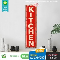 Hiasan Dinding Pajangan Dinding Kayu Dekorasi Kamar Kitchen K4