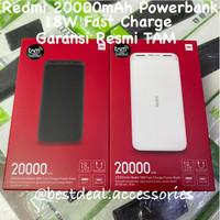 Redmi 20000mAh 18W Powerbank Fast Charge - Xiaomi Powerbank Resmi TAM