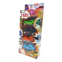 Mainan Anak Mobil TAXY 4 pcs B4321 RKC