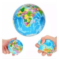 Mainan Anak Mainan Bola Karet Globe Peta Dunia