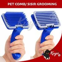 Pet brush Sisir Bulu Anjing Kucing Kelinci Alat Grooming