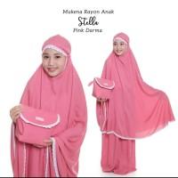 Mukena Rayon Anak Stella - Pink