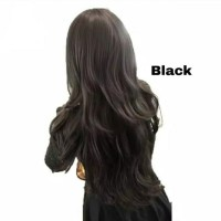 Fashion Women Wig Sexy Long Curly Wavy Wig Panjang Bergelombang