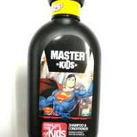 Master Kids Shampoo & Conditioner 150ml Superman