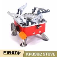Kompor Camping Gas Kotak Mini Portabel Stove KP8302 Hi-Cook