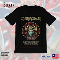 Kaos Gildan Softstyle Iron Maiden There Coming in from The Sea
