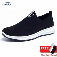 Leedoo Sepatu Slip on Sepatu Pria Sepatu Import Pria MC601