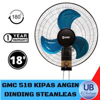 KIPAS ANGIN DINDING GMC 518 18 INCH WALL FAN GARANSI RESMI BALING BESI