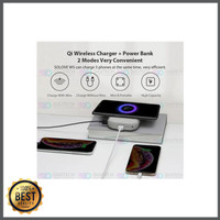 Xiaomi Powerbank Qi Mobile Wireless Charger 10 000 Mah Solove limited