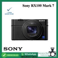 Sony RX100 Mark 7 / Sony RX100VII / Sony RX100M7 / RX100 VII - RESMI