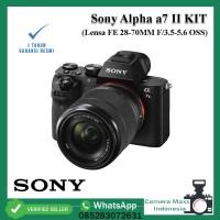 Kamera Sony Alpha a7ii / a7 ii KIT FE 28-70MM F/3.5-5.6 OSS - RESMI
