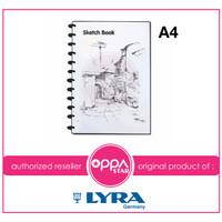 Lyra SketchBook A4 / Sketch Book Binder A4 Termurah