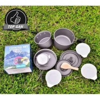 Nesting Cooking Set D300 / Alat Masak Outdoor Camping Kemah DS 300