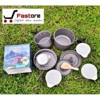 *TERMURAH* Alat Masak Outdoor dan Camping Nesting Cooking Set DS300