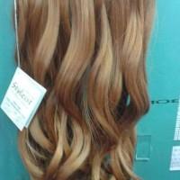Hair Clip Styleist 3 Layer Curly / Lurus Blonde / hairclip pirang