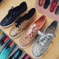Cat Glitter Waterbased Leather Paint Untuk Sepatu Kulit Tas Baju Dll
